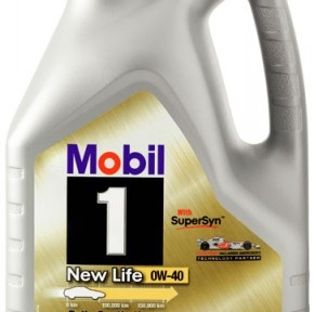 Масло моторное 0w40 Mobil 1 New Life (канистра 4л)