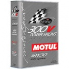 Масло моторное 5w30 Motul 300V Power Racing ESTER Core (железная банка 2л)