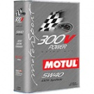 Масло моторное 5w40 Motul 300V Power ESTER Core (железная банка 2л)